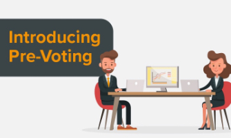 Introducing Pre-Voting for Membership Organizations